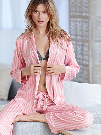 Пижама Виктория Сикрет атласная