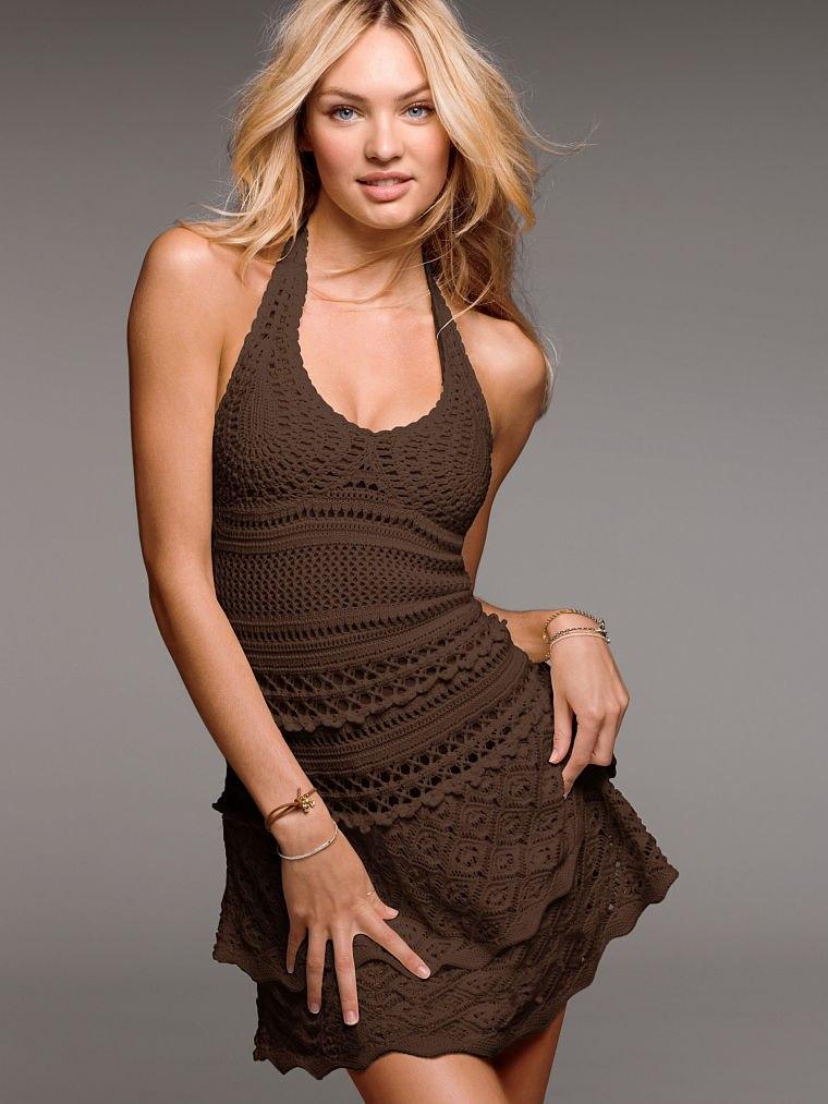 Платье вязаное Victoria s Secret