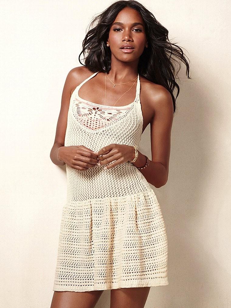 Платье вязаное Victoria s Secret купить