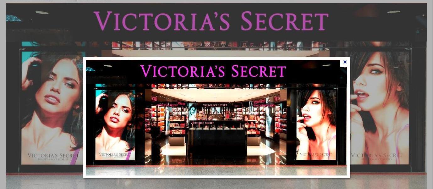 фотография входа в магазин victoria s secret