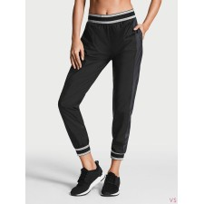 Брюки VICTORIA'S SECRET SHINE WINDBREAKER PANT черные